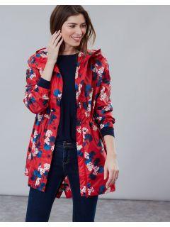 dames-regenjas-opvouwbaar-joules-golightly-rood-red-lily-voorkant