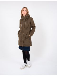 dames-winter-regenjas-Danefae-army-groen-model