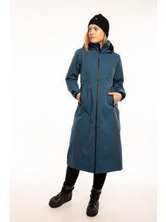 Danefae Premium Regenjas-Dames-Dogwalker-Blauw-model