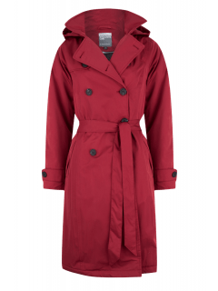 Wintertrenchcoat-Happy-Rainy-Days-Rio-Donkerrood