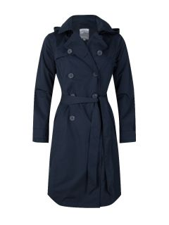 Happy-Rainy-Days-Trenchcoat-Lang-Dames-Blauw-Madrid