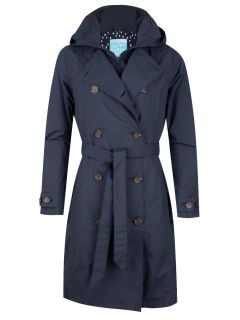 Happy-Rainy-Days-Trenchcoat-rits-Dames-Blauw-Madonna