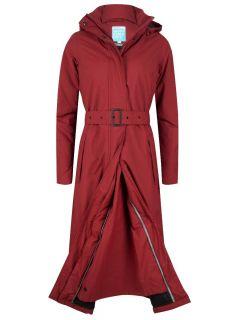 happyrainydays-extra-lange-regenjas-dames-rood-patrice