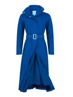 HRD-bente-extra-lange-regenjas-dames-blauw