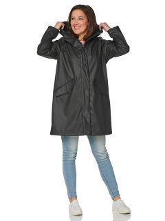 hrd-dames-regenjas-coat-zwart-bodee-model