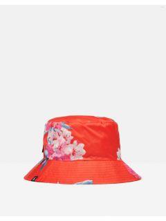 joules-regenhoed-rood-bloemen