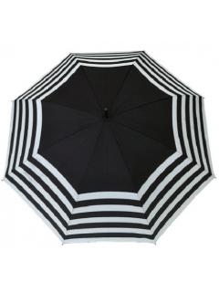 Paraplu Marine Zwart Wit open
