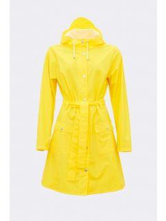 Dames-Regenjas-RAINS-Curve-geel-voorkant