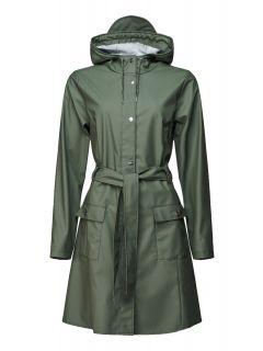 Rains-Dames-Regenjas-Curve-Jacket-olijfgroen