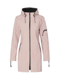 softshell-regenjas-ilse-jacobsen-pink-voorkant
