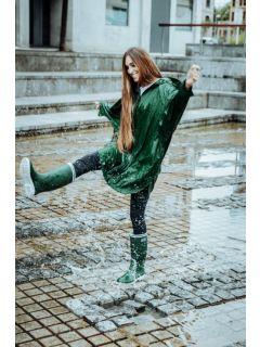 Regenjas-Tantä-Støvregn-Green-model-dansend