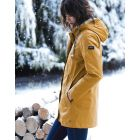 dames-winter-regenjas-rainaway-joules-geel-model