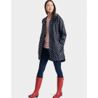 Dames-Regenjas-Joules-Golightly-Navy-Spot