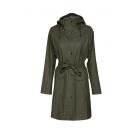 Dames-regenjas-Ilse-Jacobsen-Rain70-Army-voorkant