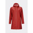 w coat scarlet rood